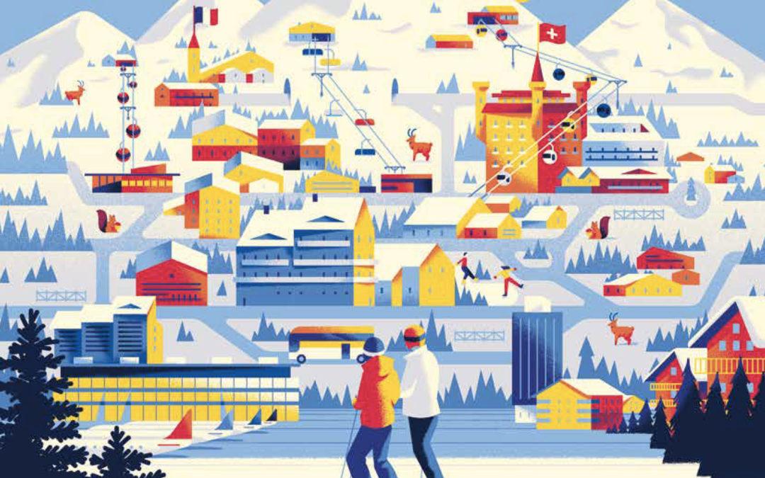 Marché immobilier alpin– secteur luxe : résumé du rapport Knight Frank 2020