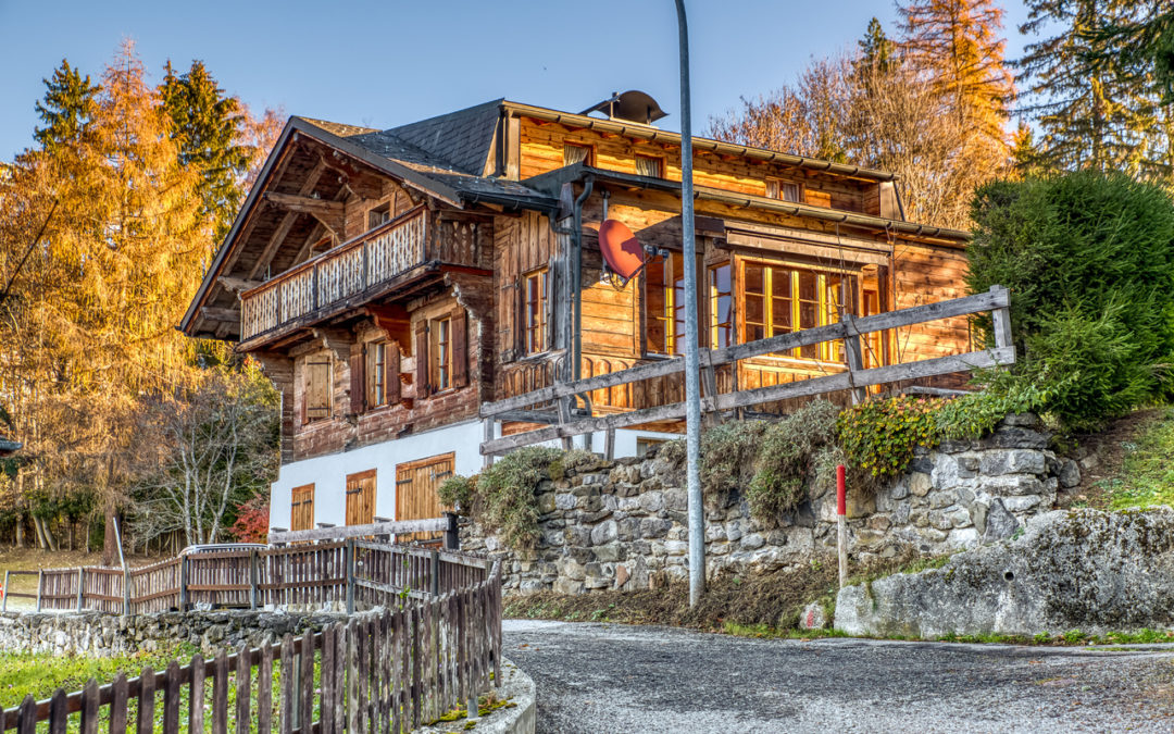 Chalets and apartments for sale : 5 listings to check out in February