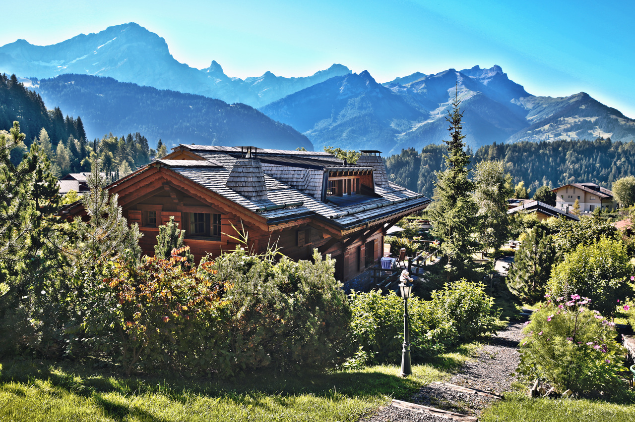 immobilier luxe montagne crise
