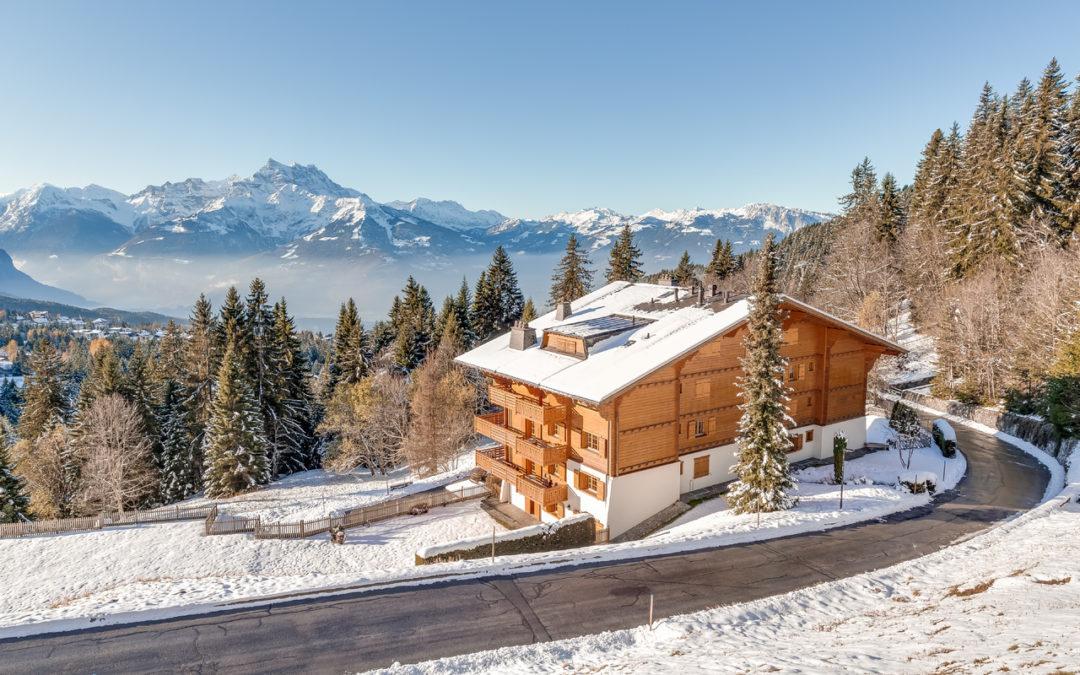 L'immobilier de montagne épargné par la crise