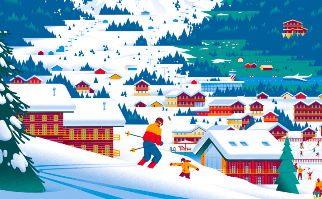 Marché immobilier alpin– secteur luxe : résumé du rapport Knight Frank 2021